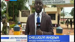 Idara ya upelelezi yamhoji waziri wa maji, Cheluguyi kuhusu bwawa la Itare