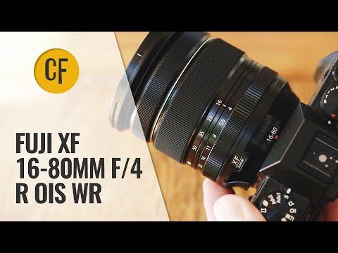External Review Video BDa14vo36lQ for Fujifilm FUJINON XF16-80mmF4 R OIS WR Lens