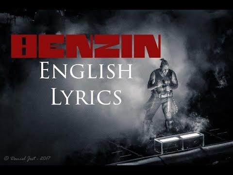 "RAMMSTEIN ""Benzin"" English Lyrics HD"
