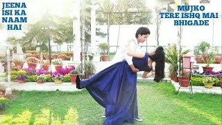 Mujko Tere Ishq Mai Bhigade | Dance cover By Aj   - YouTube