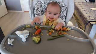 Lucas(6thang) Baby Led Weaning BLW. Baby Cutest