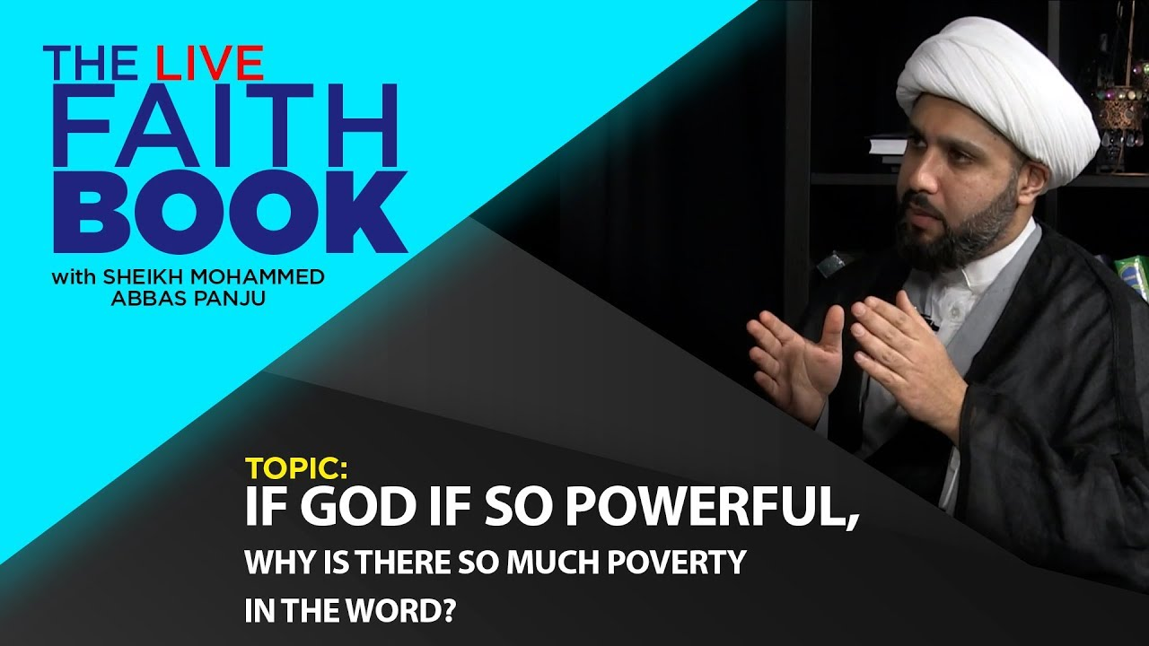 If GOD is so powerful, why is there so much poverty?