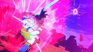 Dragon Ball Z: Kakarot - Goku vs Vegeta Beam Struggle Gameplay | Complete Demo (HD)