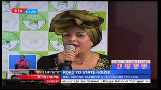 IEBC warns aspirants to follow the law as it met with presidential candidates