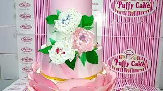 'Wedding Cake, | Peony flowers | Design Ideas | Junito Cake