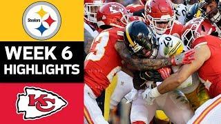 Steelers vs. Chiefs | NFL Week 6 Game Highlights