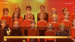 MDR-Kinderchor & Filmorchester Babelsberg: Vois sur ton chemin | Goldene Henne 2018