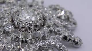 Victorian Diamond Brooch Restoration