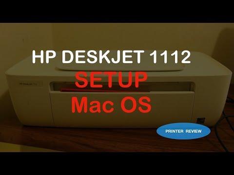 How to INSTALL hp deskjet 1112 to MACBOOK !!!