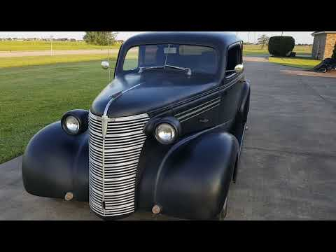 1938 Chevy 2 Door sedan Black