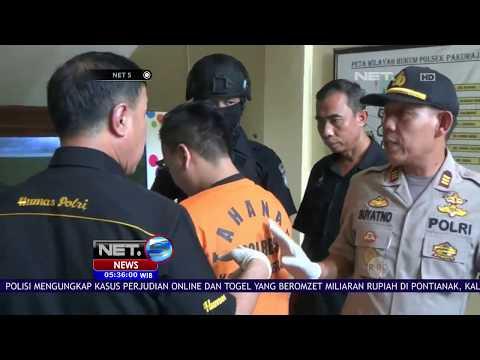 News Flash: Merek Narkoba Baru Ditemukan Petugas BNN Jawa Timur - NET 5