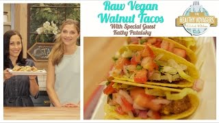 Raw Vegan Walnut Tacos