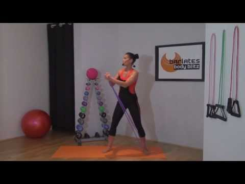 RESISTANCE BAND WORKOUT - Barlates Body Blitz Total Body Flow with Band