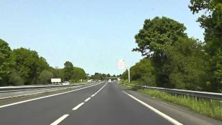 preview picture of video 'Driving From Lannion To Plérin, Cotes d'Armor, Brittany, France 24th May 2012'