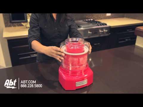 , Cuisinart CIM-42PC Ice Cream Maker, White