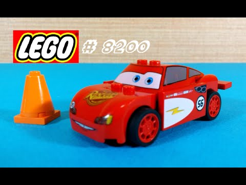 Vidéo LEGO Cars 8200 : Flash McQueen