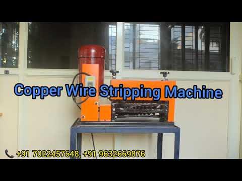 Copper Wire Stripping Machine