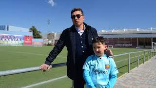 Отец участника выезда на тренировки в школу FC Barcelona делится впечатлениями