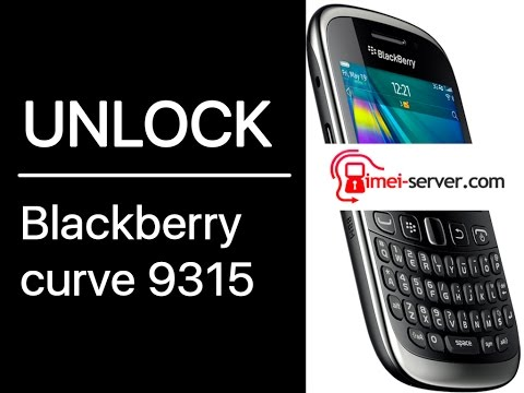 Unlock-Instruction for BlackBerry Curve 9315 from T-Mobile USA