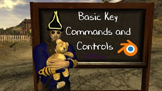 Basic Key Commands and Controls for Blender 249b ACBRadio