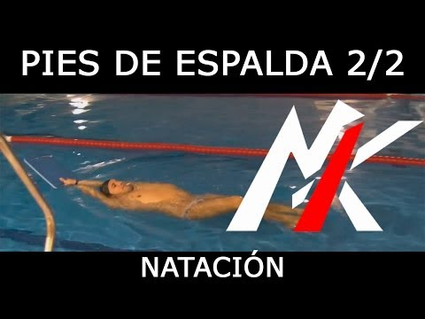 APRENDER A NADAR 1x07 (2/2): Patada de Espalda