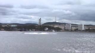 Экстренное всплытие  подводной лодки