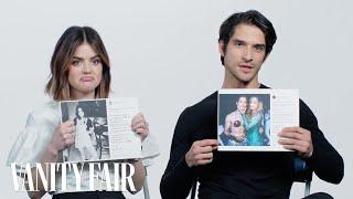 Lucy Hale and Tyler Posey Explain Their Instagram Photos | Vanity Fair - Video Youtube