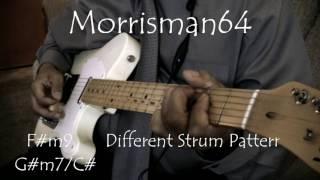 CHANTE MOORE - WEY U - GUITAR Chords Lesson