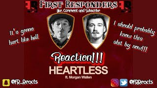 Diplo Ft Morgan Wallen HEARTLESS   REACTION!!! FRReacts