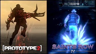 PROTOTYPE 2 ПРОТИВ SAINTS ROW 4 - ТОТАЛЬНОЕ СРАВНЕНИЕ [PROTOTYPE 2 VS SAINTS ROW 4]