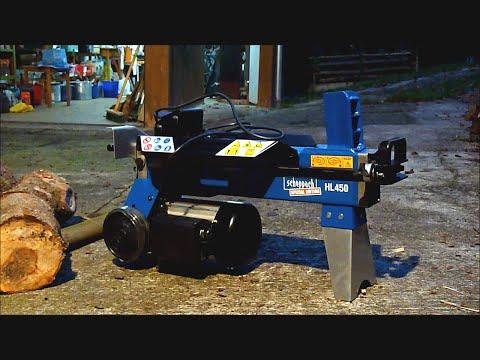 Holzspalter Hydraulikspalter Scheppach HL450 Test: SUPER-GUT für wenig Geld!   HL 450