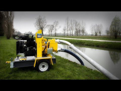 How do Centrifugal Pumps work? See the PAS Diesel Fuel Pump for ponds - zdjęcie