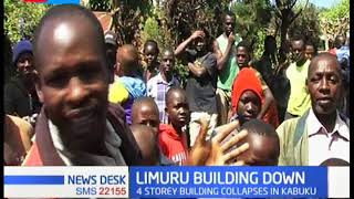 Four storey building collapses in Limuru, no casualties reported