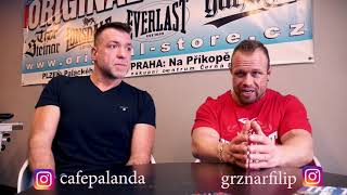 Grznár a Čepela - Profesionálové o stravě