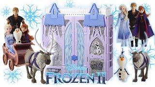 Frozen 2 Schneeballschlacht mit Elsa in Schloss Arendelle   Frozen II   MeinSpielzeugmarkt