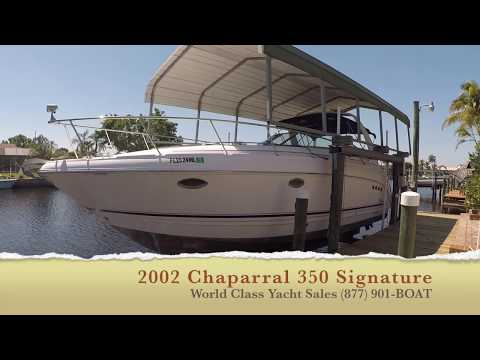 Chaparral 350 Signature video
