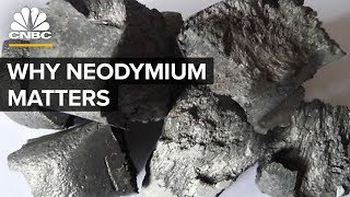Neodymium Is In Demand And China Controls Its Supply