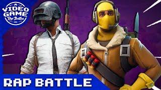 PUBG vs. Fortnite Battle Royale - Video Game Rap Battle