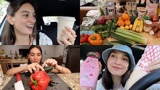 DAYS IN MY LIFE VLOG 😀 grocery haul, new favorite coffee, healthy lunch, japanese beauty, self care