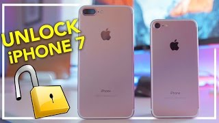 How to Unlock iPhone 7 - ANY CARRIER & COUNTRY! (Sim Unlock)