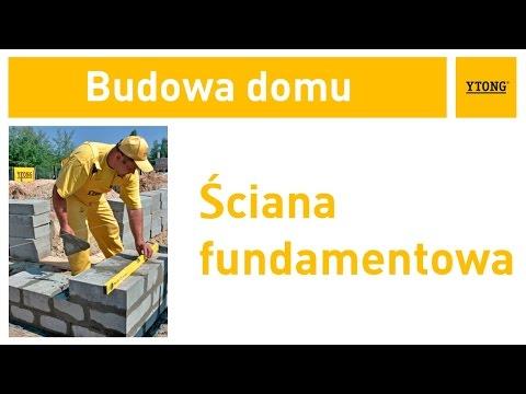 Jak wykonać fundamenty? Jak wymurować ścianę fundamentową? Instrukcja murowania z bloczków Ytong. - zdjęcie