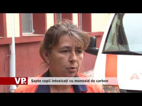 Șapte copii intoxicați cu monoxid de carbon