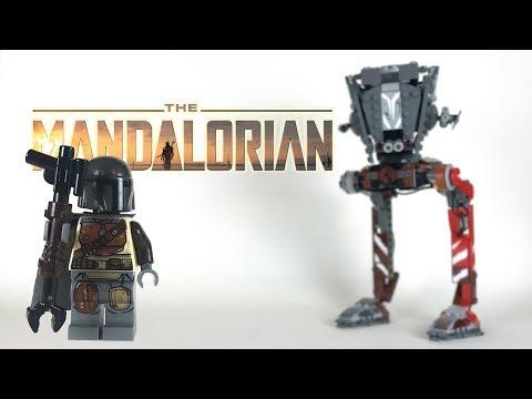 Vidéo LEGO Star Wars 75254 : AT-ST Raider
