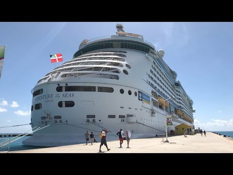 TOUR of Royal Caribbean's ADVENTURE of the Seas Cruise Ship FEB 2018 HD