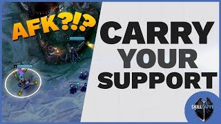 Tired Of Laning With AFK Supports? Start Carrying Them!
