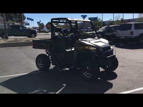 2018 Polaris Ranger XP 900 EPS in Murrieta, California