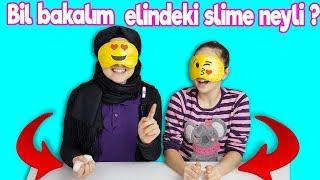 Elimde Ne Var Slime Challenge | Yepyeni bir challenge keşfettik !! What I got slime