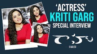 Actress Kriti Garg Special Interview | Raahu Movie Heroine Kriti Garg | GSK MEDIA