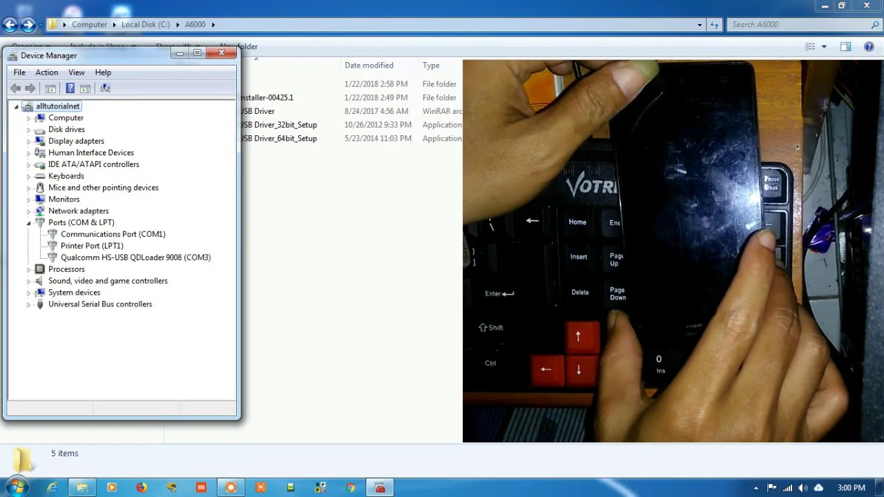 Firmware dan Cara Flash Lenovo A6000 - alltutorial net