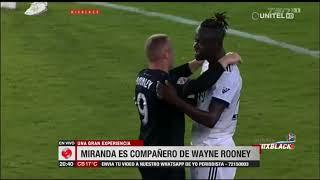 Bruno Miranda es compañero de Wayne Rooney